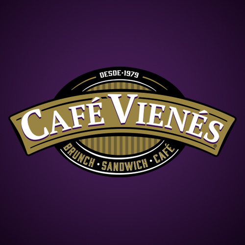 cafe vienés logotipo